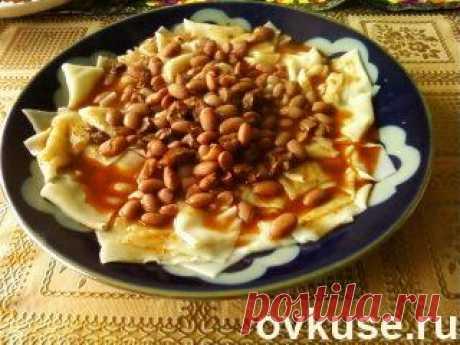 Каиш. Узбекское блюдо