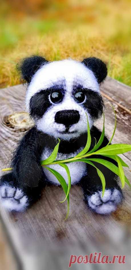 Панда крючком. Амигуруми схемы и описания на русском