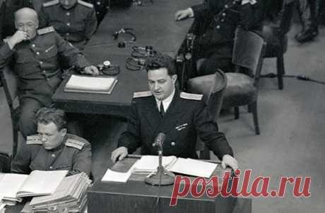Николай Зоря: тайна гибели советского прокурора на суде в Нюрнберге
