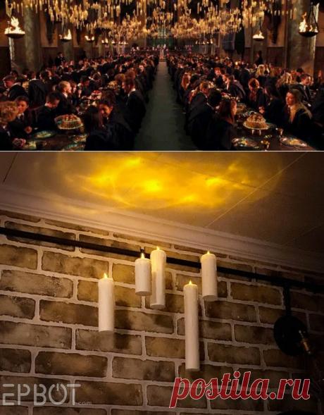 Летающие свечи Хогвардса (Diy) / Праздничный декор / ВТОРАЯ УЛИЦА