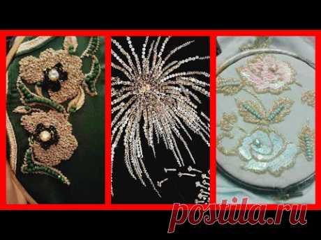 Latest Patern of zari Work And Zardozi Work By famous Designers Wear - YouTube