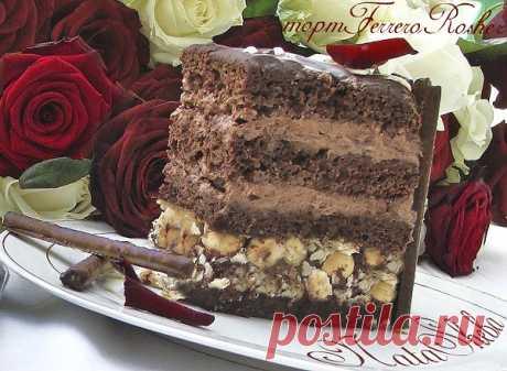 Торт Ферреро Роше (Ferrero Rocher Cake): natasheba