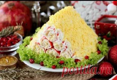 Оригинальный салат «Монастырская изба» — салат на Новый Год | Самые вкусные кулинарные рецепты