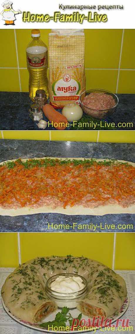 Ханум с мясом- пошаговый фоторецепт и еще много интересного   Кулинарные рецепты