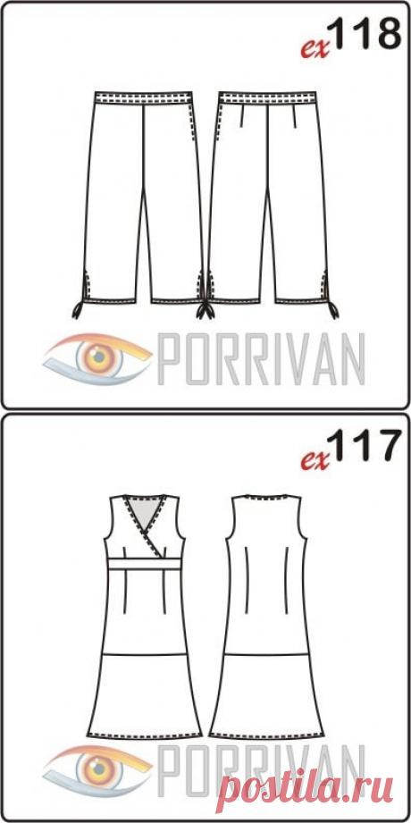 Бесплатные выкройки одежды в натуральную величину