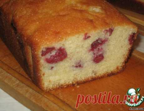 Очень вкусный кекс с вишней – кулинарный рецепт