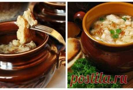 Вкусные и оригинальные блюда в горшочках