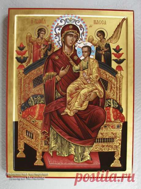 Всецарица икона Богородицы 1, Молчановы иконописцы