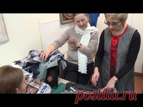 """Ксения Дмитриева """"Учимся шить юбку пэчворк часть 4 """" """"Learning to sew a patchwork skirt part 4 """""""