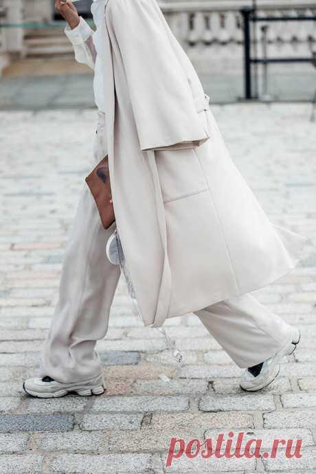 Как носить широкие брюки осенью | Мода | Выбор VOGUE | Как носить широкие брюки осенью | VOGUE