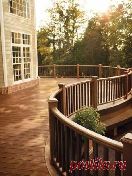 Уютные террасы с прекрасным видом