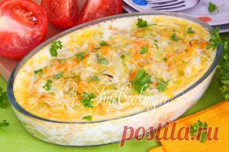 Запеканка из молодой капусты - прекрасный вариант легкого ужина или сытного завтрака