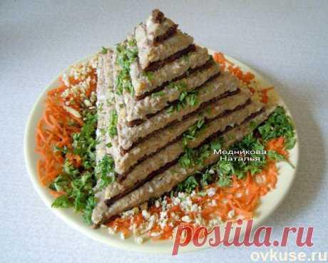 """Закусочный торт """"Египетская пирамида"""". » Женский Мир"""