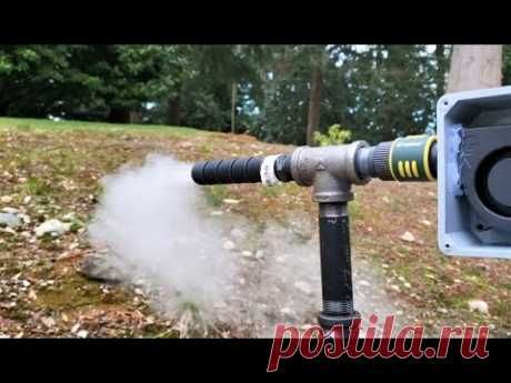 Дымогенератор для холодного копчения своими руками! #У Михалыча