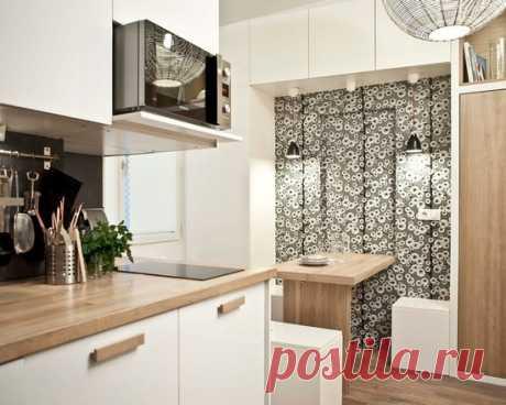 Идея дизайна Маленькие Кухни Дизайн интерьера, фото, декор и идеи для дома Франция