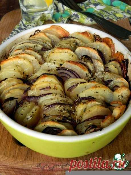 """Запеченный картофель """"Криспи гратин"""" Кулинарный рецепт"""