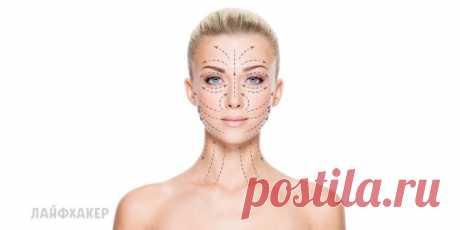 Как использовать массажные линии лица и шеи, чтобы продлить молодость - Лайфхакер
