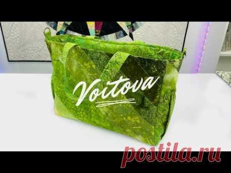 Элегантная сумка своими руками - 1 модель и 5 размеров | Пошаговый мастер-класс - YouTube