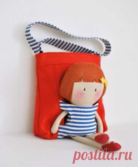 Сумка-куклопереноска (Diy) Модная одежда и дизайн интерьера своими руками