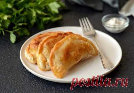 Домашние чебуреки с болгарским перцем и капустой — Sloosh – кулинарные рецепты