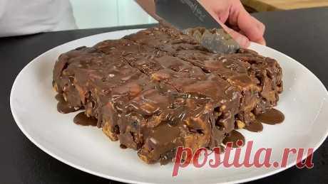 Без выпечки!!!! Шоколадный тортик