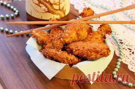 Острые крылышки KFC рецепт с фото пошагово - 1000.menu