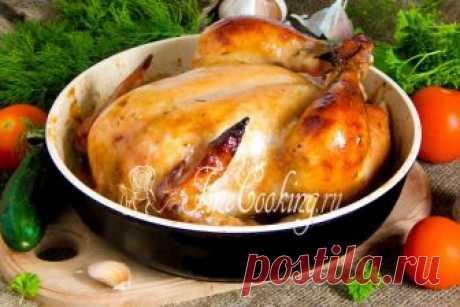 Курица на 40 зубчиках чеснока Буквально на днях приготовила курицу на 40 зубчиках чеснока.