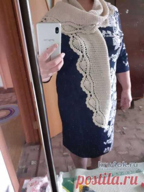 Вязанные крючком шарфы. Работы Альбины Ваниной