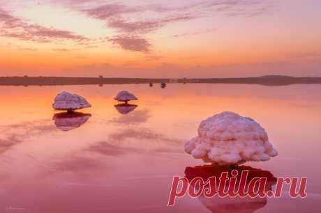 Полюбуйтесь рассветом над озером Масазыр.