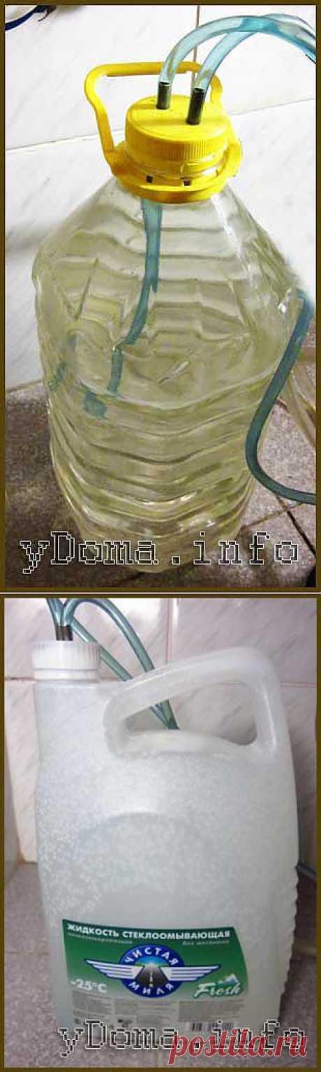 Система нагрева воды для биде в буферной емкости.