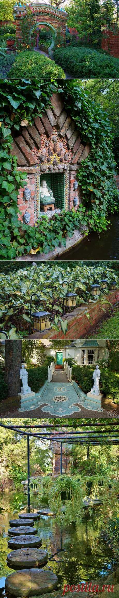 Сады Чандора (Chandor Gardens). США.