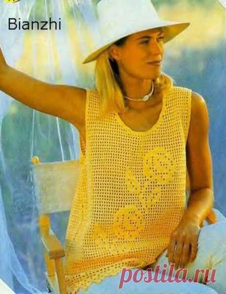 Подборка топов крючком, которые влюбляют в себя с первого взгляда. | Asha. Вязание и дизайн.🌶 | Яндекс Дзен