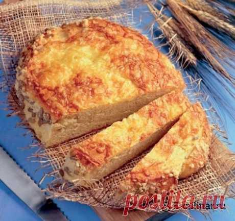 Кукурузный хлеб с сыром рецепт с фото