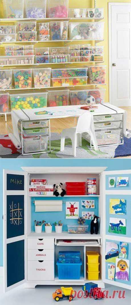 Хранение детских игрушек и организация рабочего места ребенка. Обустроенная детская. Порядок в детской - порядок в голове вашего ребенка.