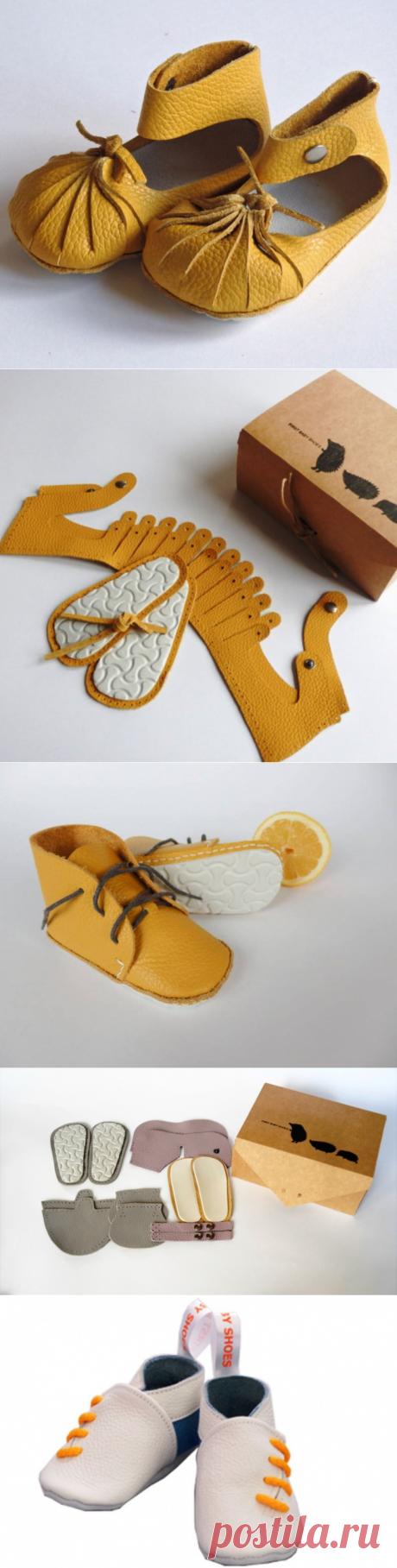 e7b220f4724 make First Baby Shoes itself (DIY