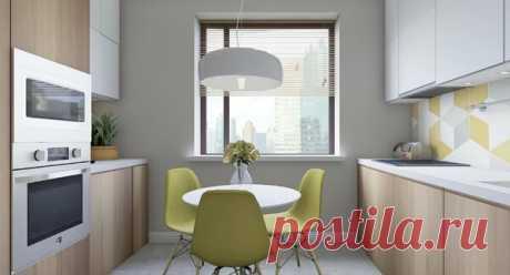 Кухня 7 кв.м в доме серии п-44т | flqu.ru - квартирный вопрос. Блог о дизайне, ремонте