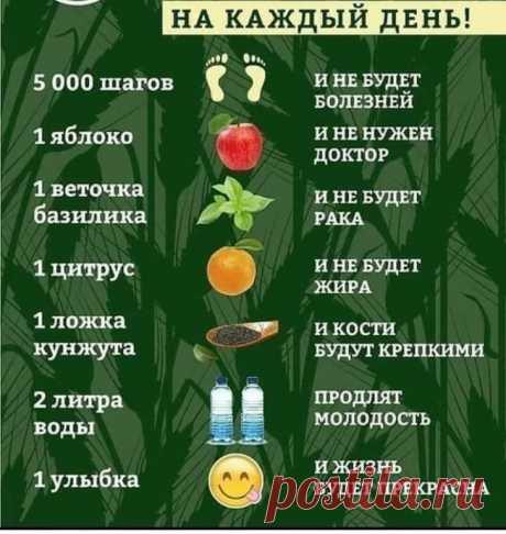Как понять, в каких витаминах нуждается организм  Забирайте к себе на страничку!