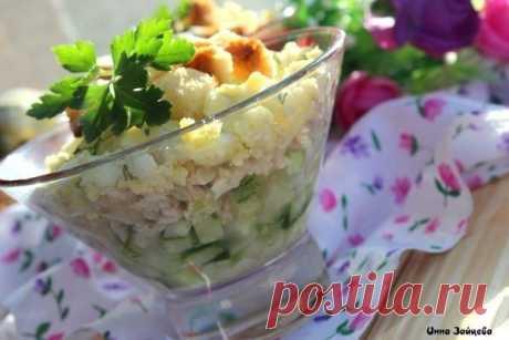 Салат нежность — Sloosh – кулинарные рецепты