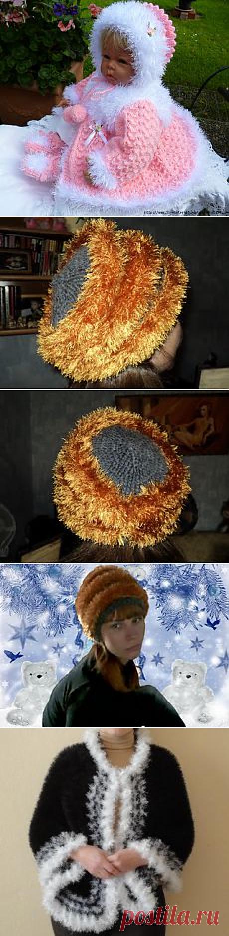 Поиск на Постиле: вязание из травки