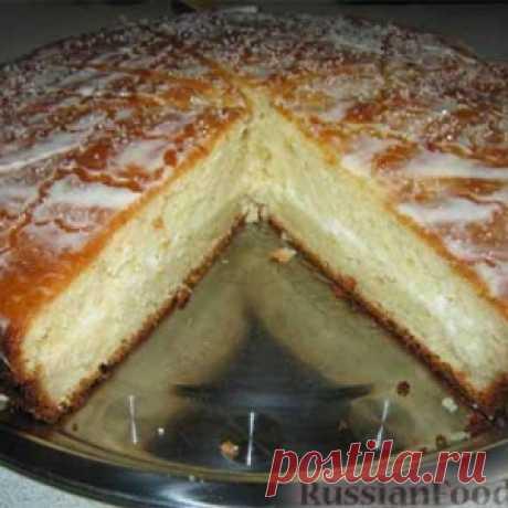 Пирог со сметанным кремом