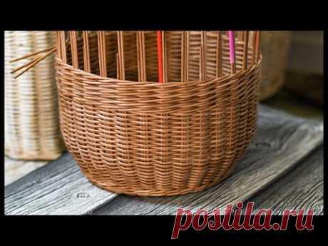 Плетём корзину. Часть 3. Запись Эфира
