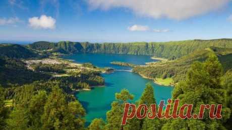 Азорские острова - чудо посреди океана? | Мир вокруг нас