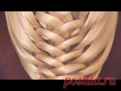 "Pigtail hairstyle - Плетение - ""Молния"" - Hairstyles by REM"