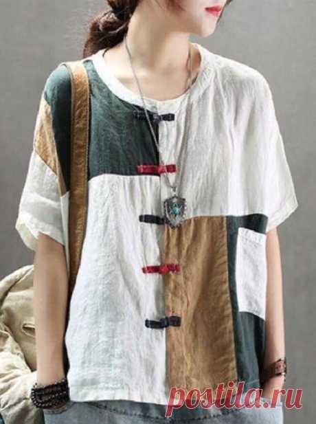 Нежные туники, рубашки из тонкого льна в стиле Бохо и не только. Лето приближается