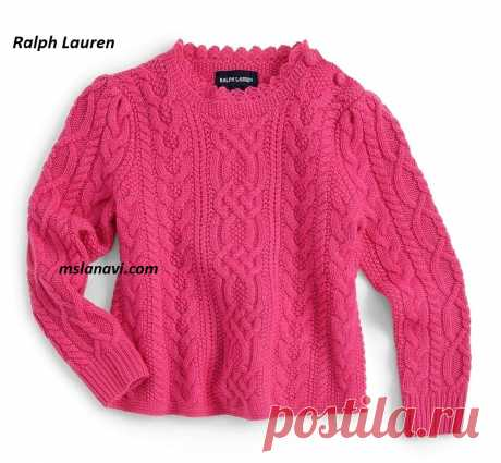 Children's sweater spokes | we Knit with Lanah Vee