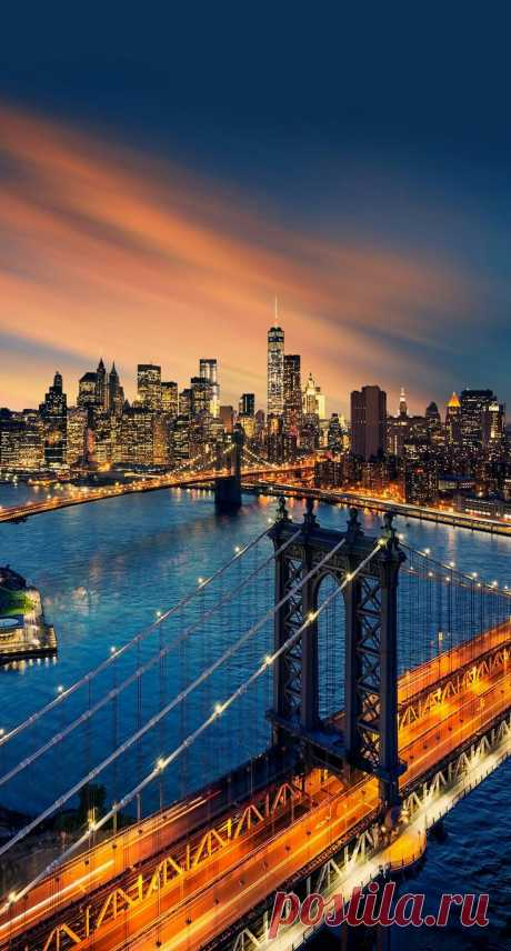 Мосты, Города, Красивые Места,