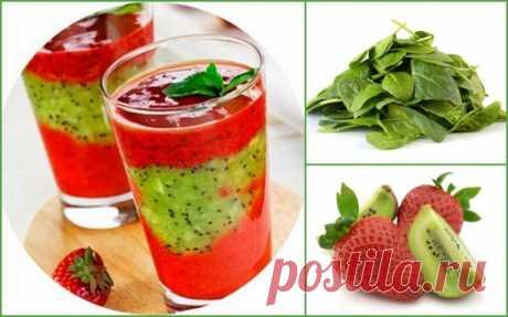 10 рецептов диетических смузи
