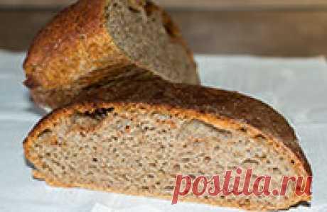 Домашний ржаной хлеб без замеса Хочу познакомить вас с еще одним вариантом, как приготовить домашний ржаной хлеб без замеса или, правильнее сказать, вымеса теста.
