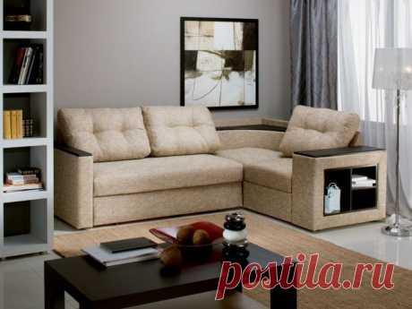 Как поставить угловой диван: идеи размещения на фото