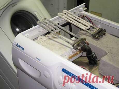 """Очищение стиральной машинки от накипи без """"Калгона"""""""
